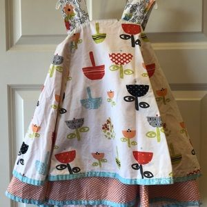 Jelly the Pug Dress with adorable back
